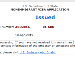 221g Visa Approved 2018
